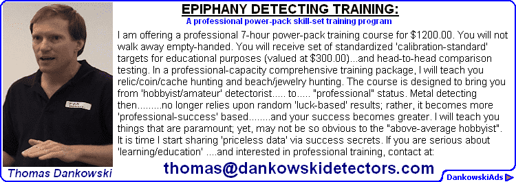 EPIPHANY METAL DETECTING Announcement
